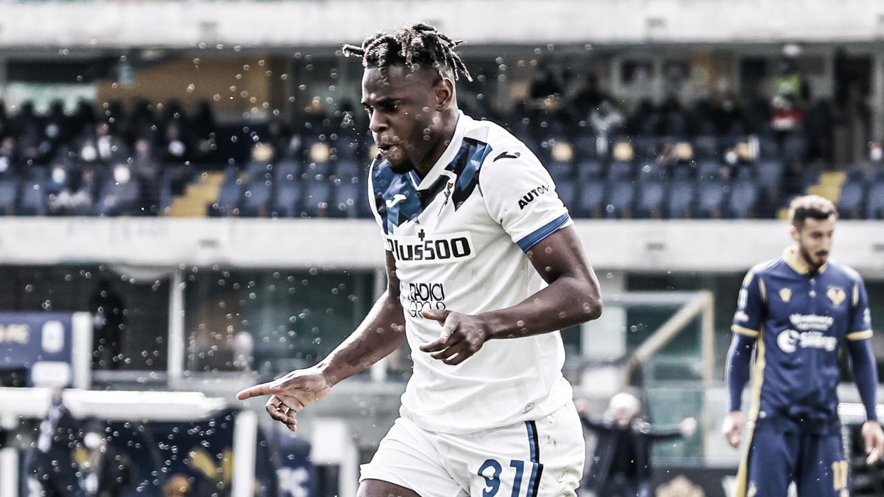 Sem dificuldades, Atalanta bate Hellas Verona e se mantém no G-4 da Serie A