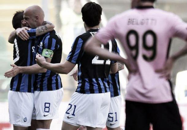 Atalanta corsara a Palermo: 3-2