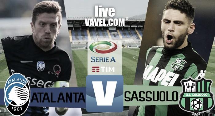 Atalanta-Sassuolo in Serie A 2016/17 (1-1)