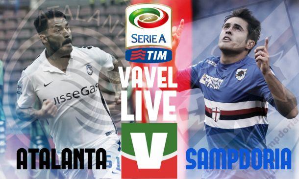 Risultato Atalanta - Sampdoria, partita di Serie A 2015/16: volano i bergamaschi, 2-1 sui doriani