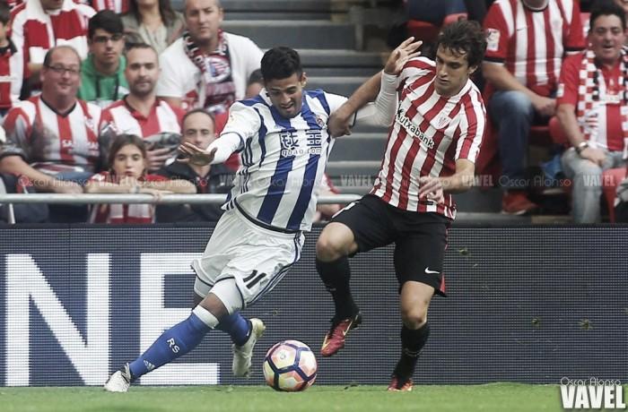 Athletic Club - Real Sociedad: puntuaciones de la Real Sociedad, jornada 8 de La Liga