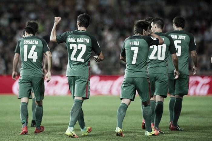 Com golaço de Raúl García, Athletic Bilbao vence Granada fora de casa