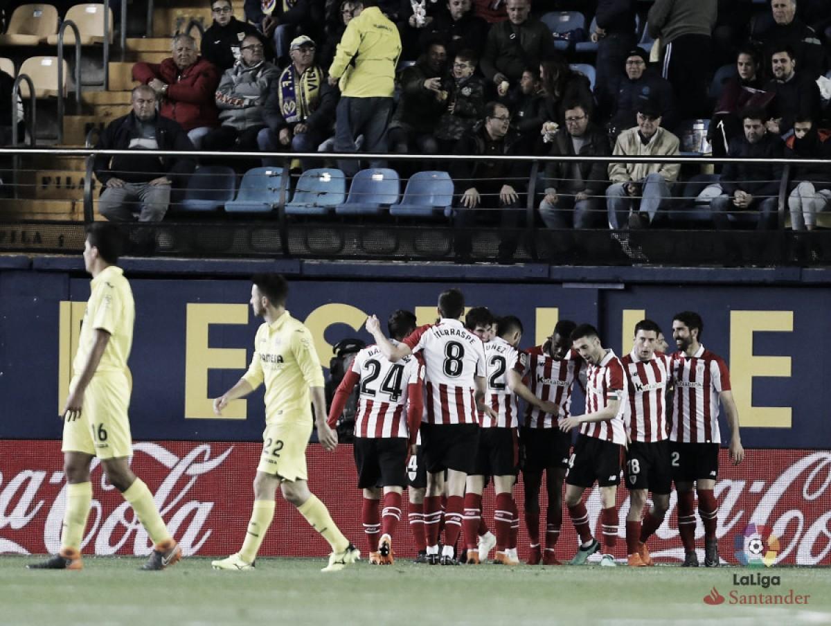 Villarreal - Athletic Club: puntuaciones Athletic Club jornada 31 de la Liga Santander