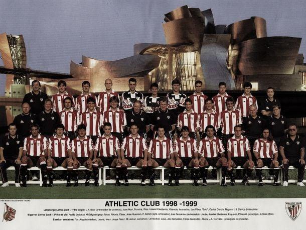 Athletic, en la élite de Europa: 1998-1999