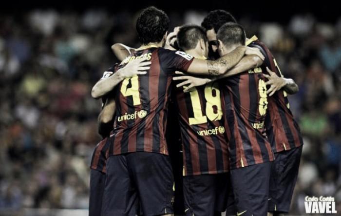 Athletic Club de Bilbao-FC Barcelona: puntuaciones del Barcelona, partido de ida de los cuartos de final de la Copa del Rey