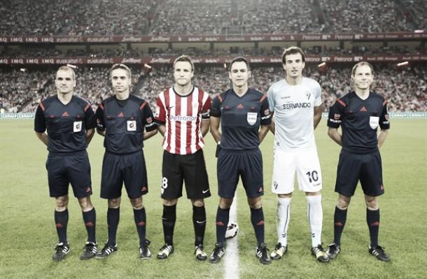 Velasco Carballo arbitrará el RB Linense - Athletic Club