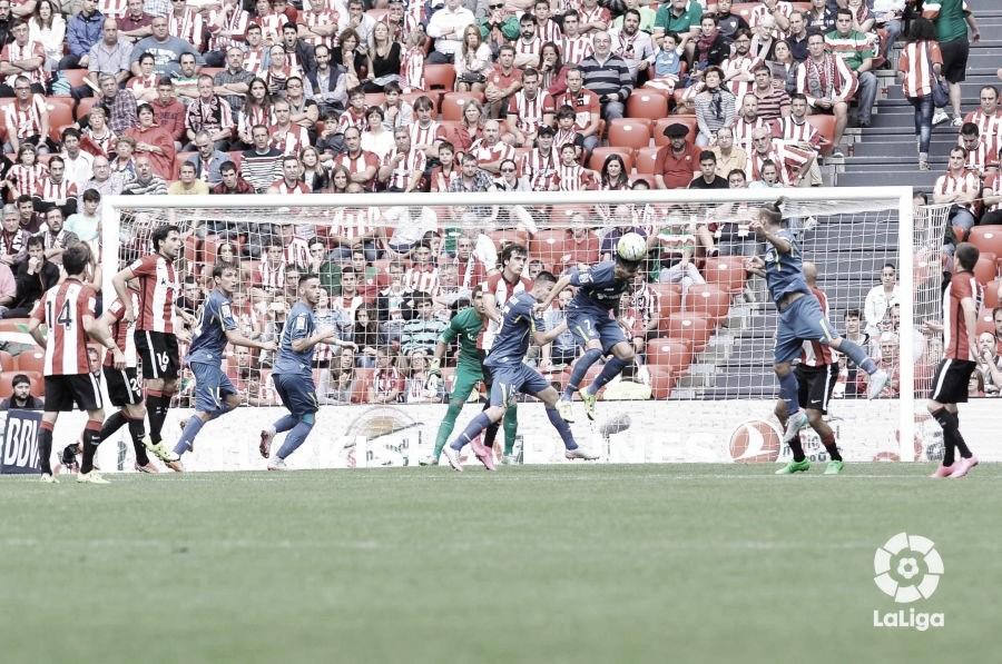Athletic frente al Getafe en Liga // Fuente: La Liga