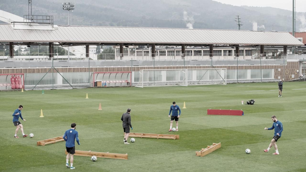 Nueva fase de entrenamientos en Lezama