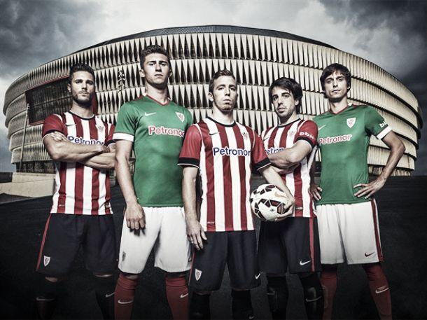 Athletic Bilbao apresenta uniformes para a temporada 2014/2015