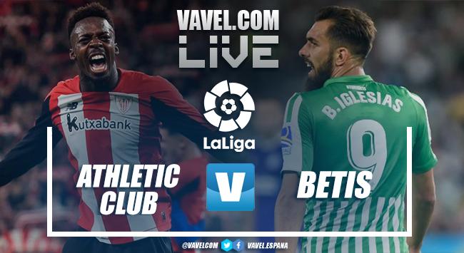 Resumen Athletic Club vs Real Betis (1-0)