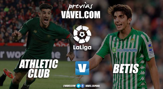 Previa Athletic - Betis: Europa cada vez más difícil y la continuidad del técnico verdiblanco, en el aire