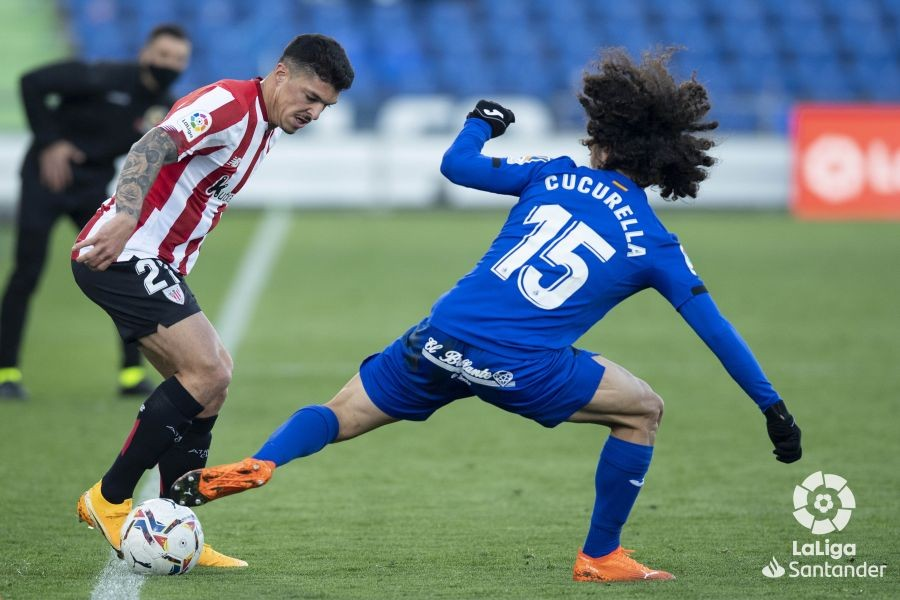 Capa vs Cucurella, Getafe vs Athletic // Fuente: La Liga