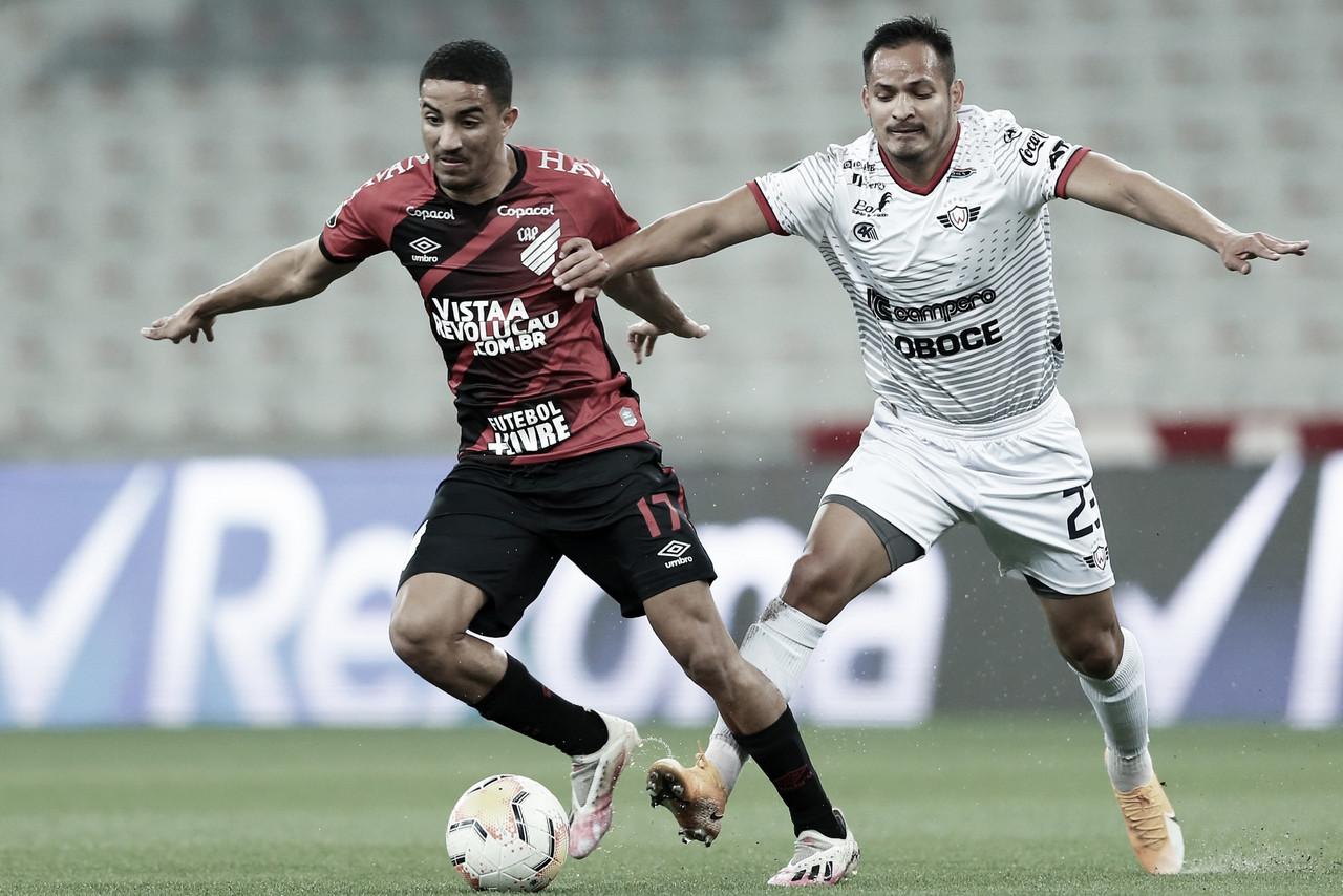 Athletico pressiona, mas não consegue furar retranca do Wilstermann