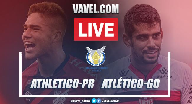 Gols e melhores momentos para Athletico-PR 2x1 Atlético-GO pelo Campeonato Brasileiro