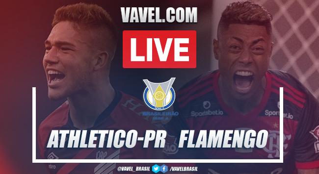 Gols e melhores momentos de Athletico-PR 2 x 1 Flamengo pelo Campeonato Brasileiro