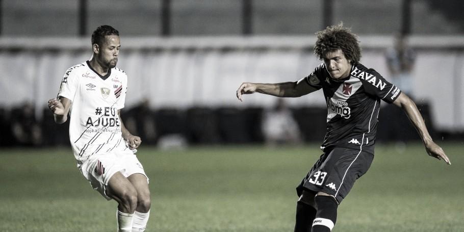 Athletico e Vasco se enfrentam para fugir da parte inferior da tabela