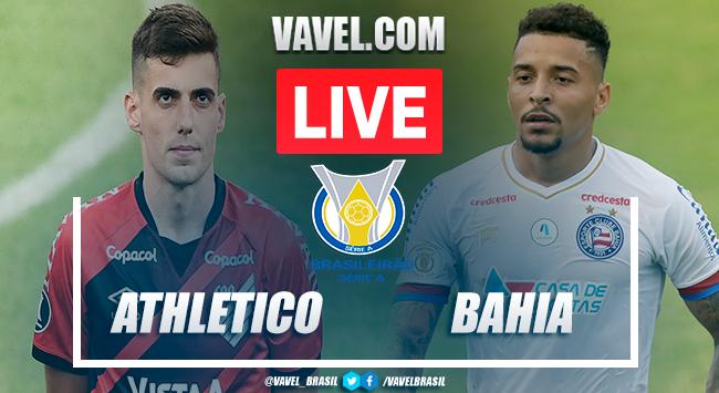 Athletico-PR x Bahia AO VIVO: jogo em tempo real pelo Brasileirão
