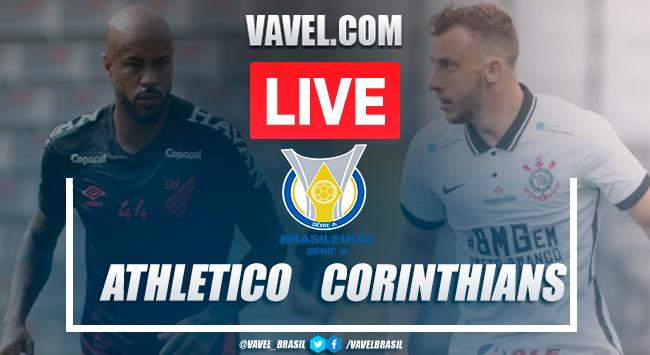 Gols e melhores momentos para Athletico 0x1 Corinthians pelo Campeonato Brasileiro 2020