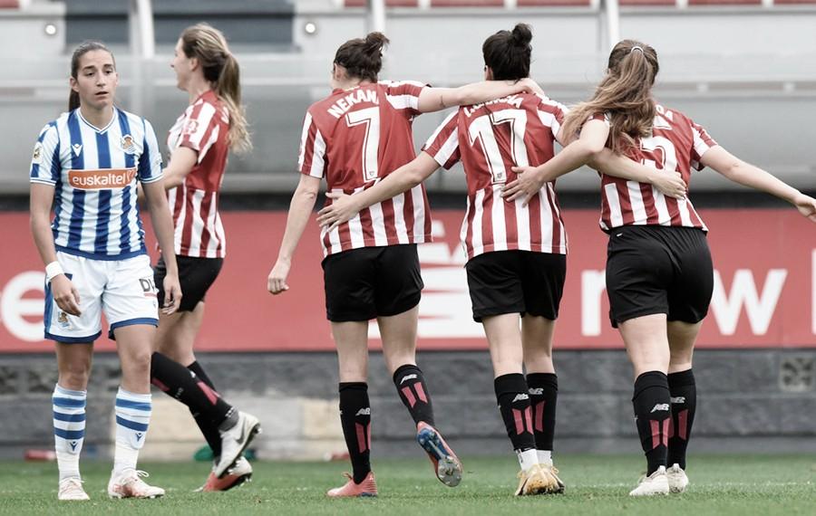Athletic Club 2-1 Real Sociedad: un derbi inusual