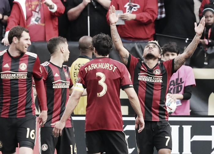 Atlanta United move top of the Eastern Conference after Chicago Fire victory