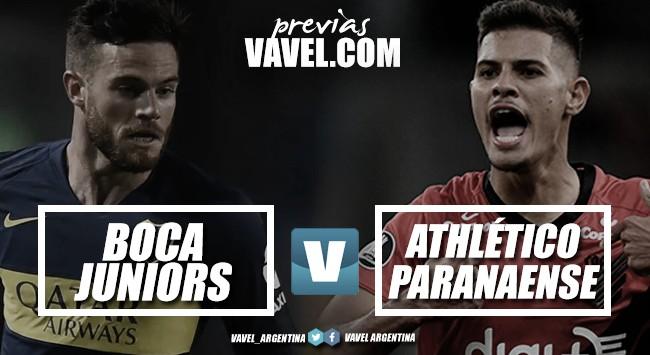 Previa Boca - Athlético Paranaense: en busca de los cuartos
