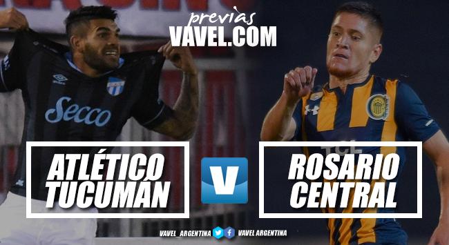 Previa Atlético Tucumán - Rosario Central: el Canalla debuta en la Superliga