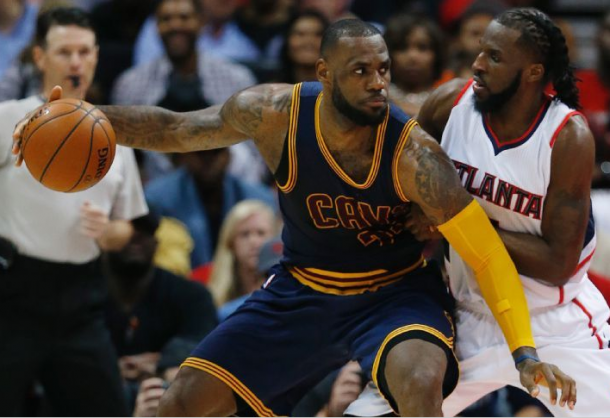LeBron James And J.R. Smith Dominate In Game One To Earn Cleveland Cavaliers Victory Against Atlanta Hawks