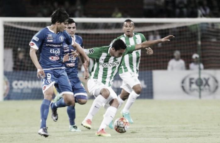Atlético Nacional vence Sol de América e confirma vaga nas quartas da Sul-Americana