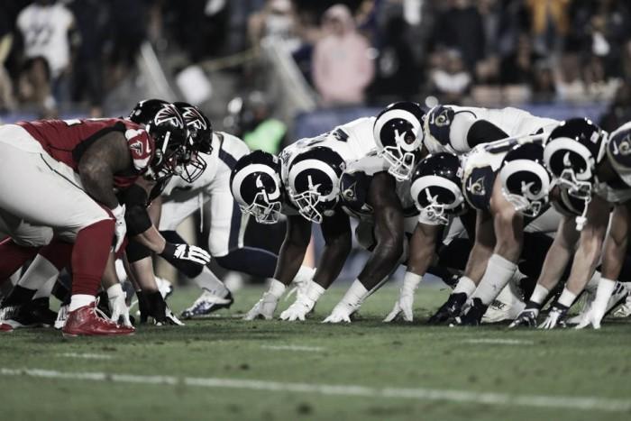 Los Falcons vuelan en Los Angeles