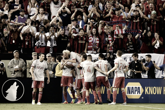 Atlanta United face stern test against Sporting KC's league-best defense