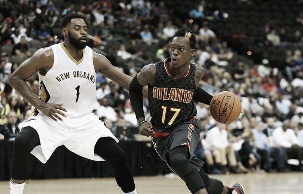 Nba preseason, New Orleans Pelicans-Atlanta Hawks 93-103