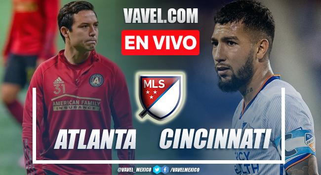 Resumen y goles: Atlanta 4-0 Cincinnati en MLS