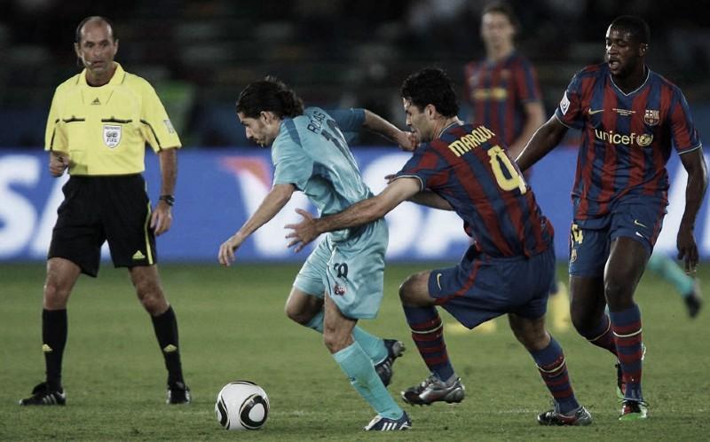 Blatter y Laporta alabaron exhibición de Atlante en Mundial de Clubes 2009