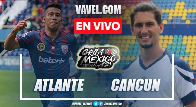 Gol y resumen del Atlante 1-0 Cancún en Liga de Expansión MX