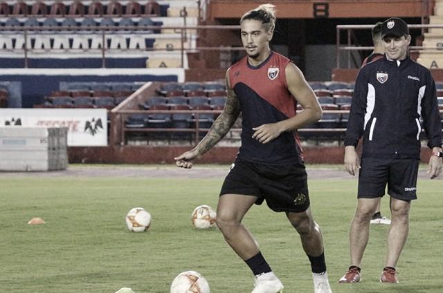 Manuel Velarde y Francisco da Costa se despiden del Atlante