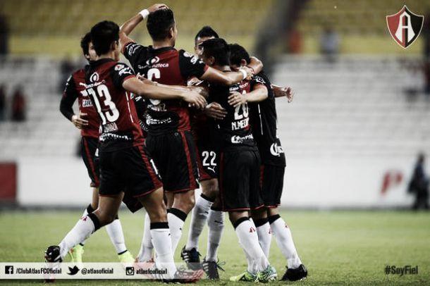 Atlas vapulea a Dorados en la Copa MX