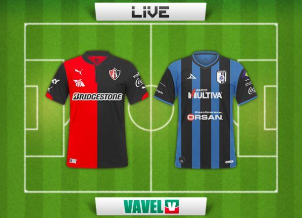Resultado Atlas - Querétaro en Liga MX 2014 (2-1)