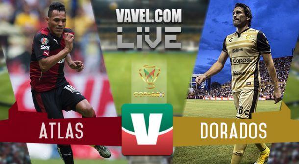 Resultado Atlas - Dorados en Copa MX 2015 (1-0)
