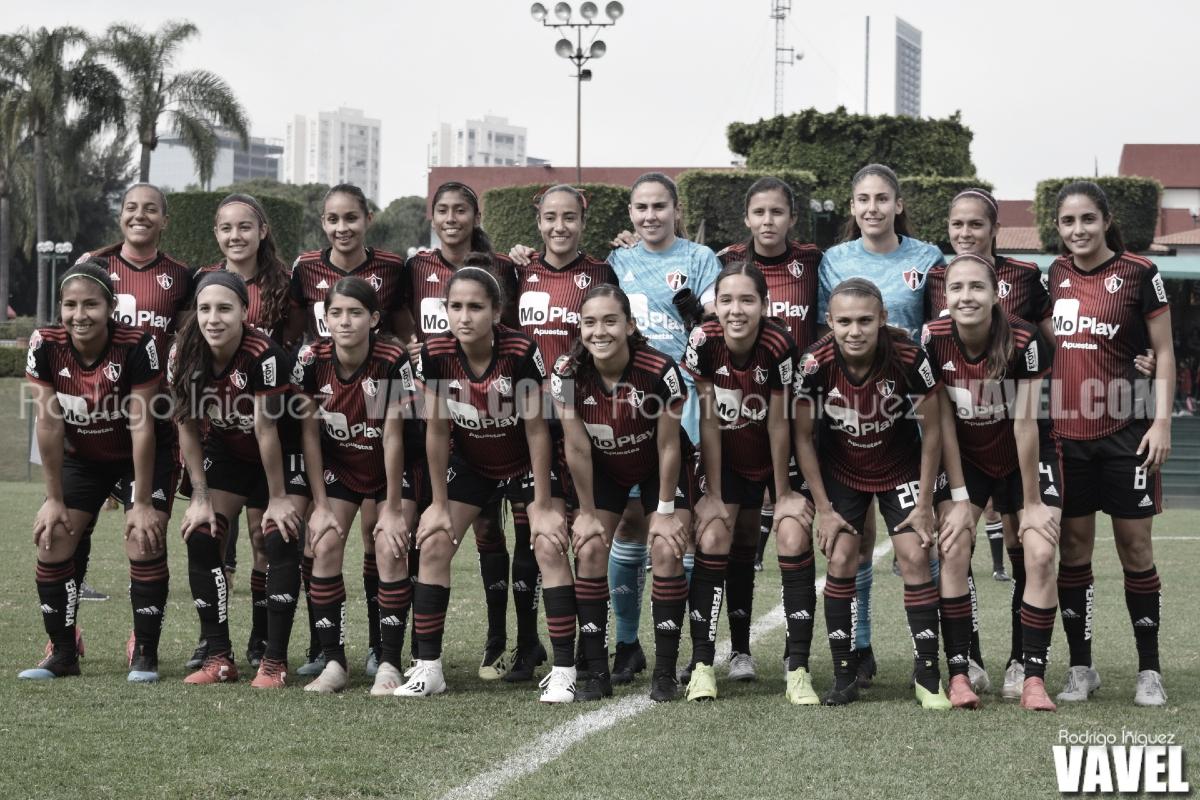 El reforzado Atlas: favorito en la Liga MX Femenil