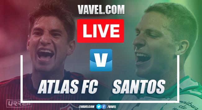 Goals and Highlights: Atlas 1-2 Santos, 2019 Liga MX