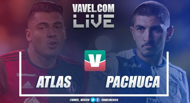 Resultado y goles del Atlas 0-0 Pachuca en Liga MX 2018 (0-0)