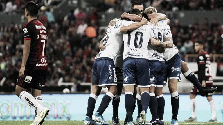 Puntuaciones de los Rojinegros del Atlas 0-1 Puebla, Jornada 2 Clausura 2020