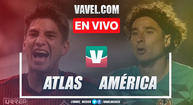 Resumen y video goles Atlas 3-0 América en Apertura 2019