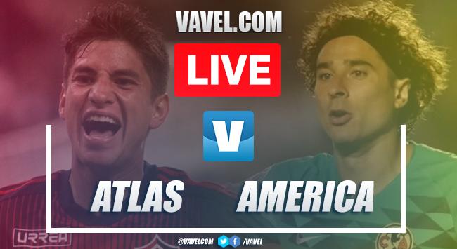 Goals and Highlights: Atlas 3-0 America, 2019 Liga MX