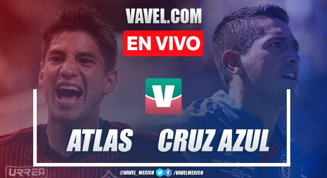 Resumen y video goles Atlas 1-3 Cruz Azul en Apertura 2019