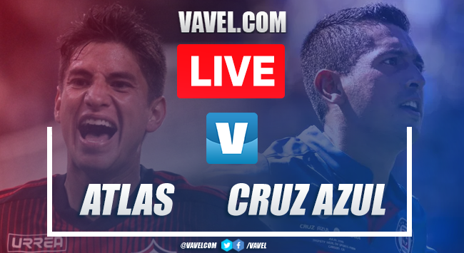 Atlas vs Cruz Azul: LIVE Stream and Updates (0-1)