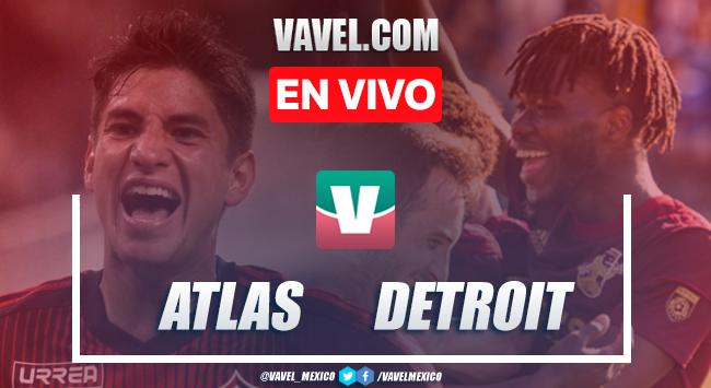 Resumen y goles Atlas 1-2 Detroit City en Amistoso USA 2019