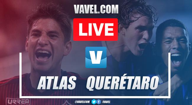 Resumen y video goles Atlas 2-0 Querétaro en Apertura 2019
