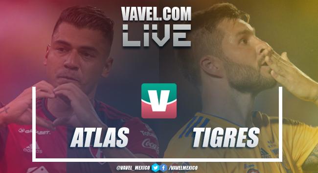 Resultado y goles Atlas 0-1 Tigres en Liga MX 2019