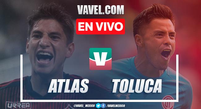 Resumen y video goles Atlas 0-1 Toluca en Apertura 2019